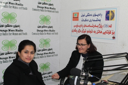 """Dange Nwe"" – First Community Radio in Northern Iraq"