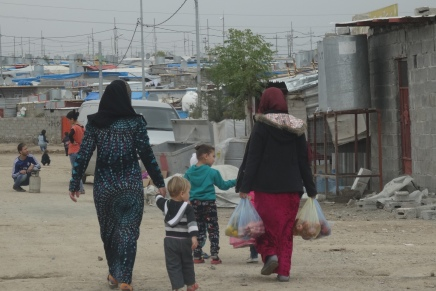 "After the takeover of Kirkuk: ""We need help for the new IDP's"""