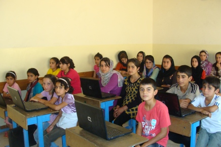 The Afrin School: Where Syrian Refugees Children Can Learn Again