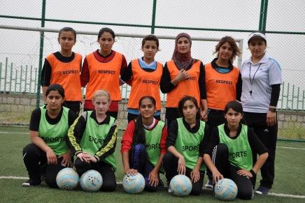 Supporting Girls Soccer Teams in Iraqi-Kurdistan andSyria