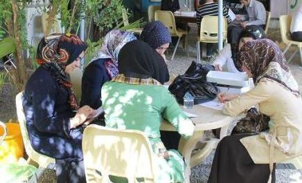 The first women's café in Iraq