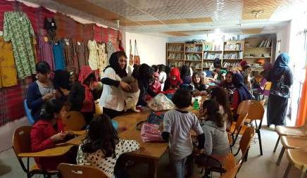 Halabja Peace Project – Refugees and Citizens join