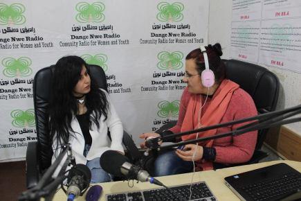 """Dange Nwe"" – First Community Radio in NorthernIraq"