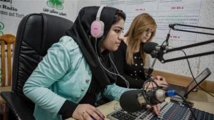 A Refugees for Refugees Radio in Iraqi-Kurdistan