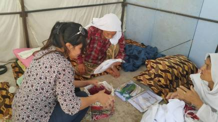 Assistance to Yazidi Victims of ISIS