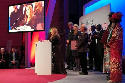 Wadi awarded Roland Berger Prize for Human Dignity