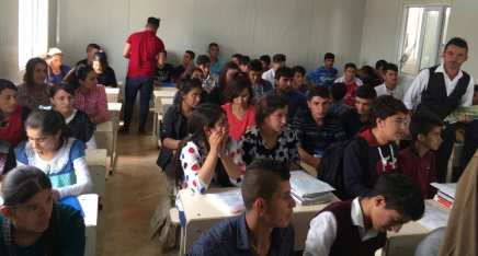Primary & Secondary Education for IDPs and Refugees