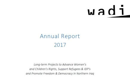 Wadi Annual Activity Report 2017