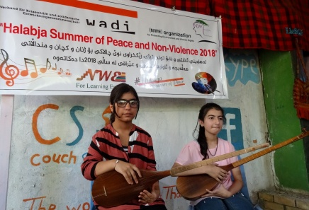 Halabja Summer of Peace and Non-Violence 2018