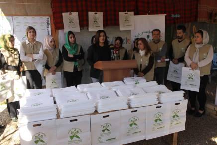 Working to End Plastic Bag Use inHalabja