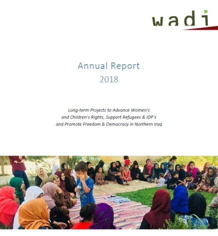Wadi Activity Report for Iraq 2018