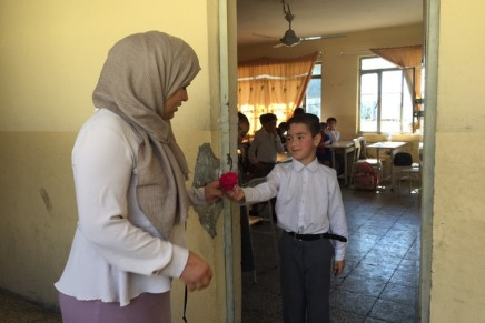 More Schools in Kurdistan Region join Wadi's No to Violence campaign