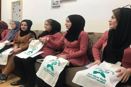 All-female tote bag factory aims to raise awareness on dangers of plastic on health,environment