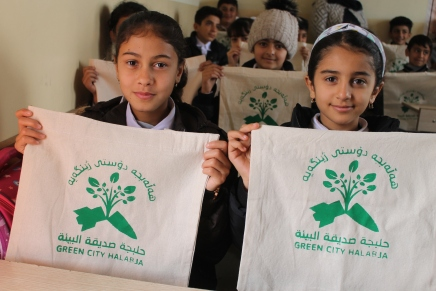 Keep Halabja Green