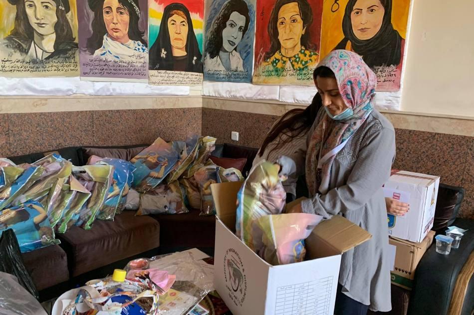 Emergency Relief – Fire in Yazidi RefugeeCamp